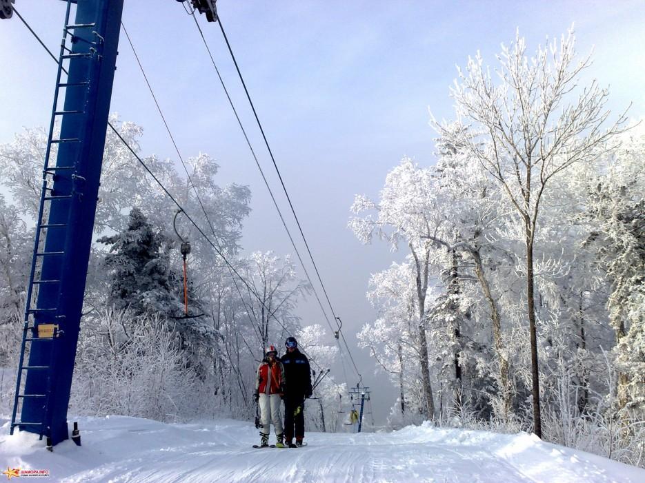 Строительство лыжной базы в Березовой роще идет с отставанием от графика.